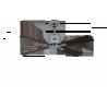 NEO ECO II 103 CH black/teak με DC μοτέρ και τηλεχειρισμό by Casafan.