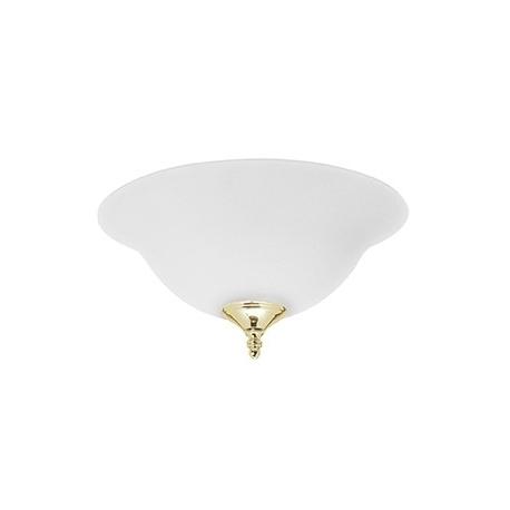 Φωτιστικό Frosted Opal Bowl της Hunter για ανεμιστήρες οροφής.