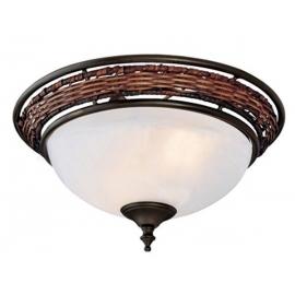 Φωτιστικό Wicker της Hunter για ανεμιστήρες οροφής