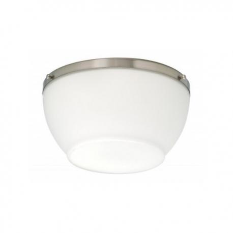 Φωτιστικό Metro chrome της Hunter για ανεμιστήρες οροφής