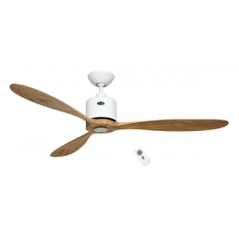 Aeroplan ECO λευκός - Natural με DC μοτέρ και τηλεχειρισμό της Casafan