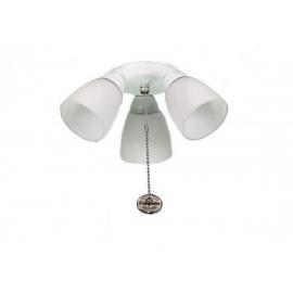 Φωτιστικό Amalfi με ρυθμιζόμενα σποτς της Fantasia για ανεμιστήρες οροφής