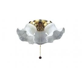 Φωτιστικό Tulip με ρυθμιζόμενα σποτς της Fantasia για ανεμιστήρες οροφής
