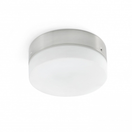 LED φωτιστικό ματ νίκελ για ανεμιστήρες οροφής MOLOKAI της FARO