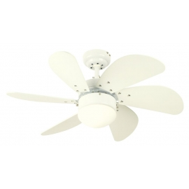 Turbo λευκός με φωτιστικό της Westinghouse
