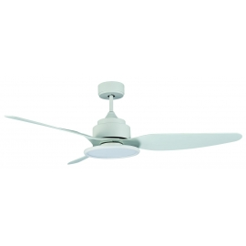 Fiera White με DC μοτέρ και LED φωτιστικό της Sulion