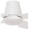 Aria CTC 122 λευκός με LED φωτιστικό και τηλεχερισμό της Beacon