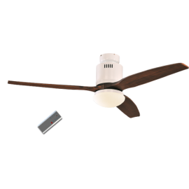 Aerodynamix λευκός/Walnut με DC μοτέρ της Casafan