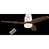 Aerodynamix White/Walnut με τηλεχειρισμό και φωτιστικό by Casafan