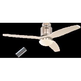 Aerodynamix Polished Chrome/λευκός με DC μοτέρ της Casafan