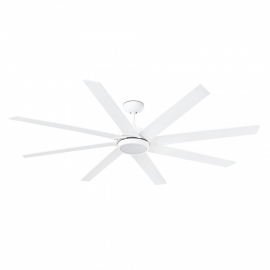 Century 165 λευκός με LED φωτιστικό της FARO