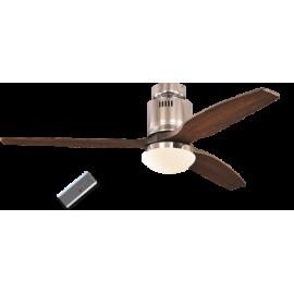 Aerodynamix Νίκελ Καρυδιά με τηλεχειρισμό και φωτιστικό της Casafan
